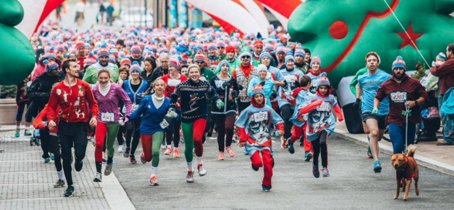 Ugly Sweater Run comes back to Chicago