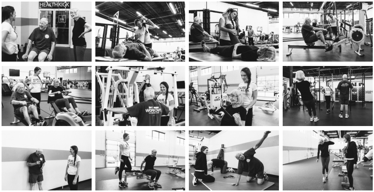 senior fitness personal training chicago